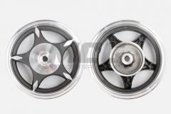 Wheel disk 2,50 * 10th back, drum of light-alloy,