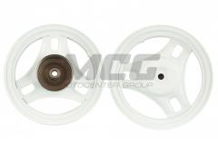 Honda Dio wheel disk back, drum metal, 22 slits of