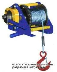 Winches manual HW-2500. Winches electric KDJ-500