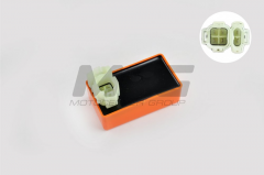 The switch 4T GY6 50 is small, orange BM