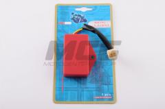 Switch tuning of Yamaha Jog 2JA red
