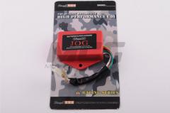 Switch tuning of Yamaha Jog 3KJ, 2T Stels 50 red