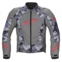 Alpinestars Sniper Air Jacket grey/Red motor-jacke