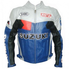 Dainese Suzuki Rizla Blue motor-jacke