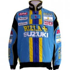 Dainese Suzuki Rizla Turquoise motor-jacke
