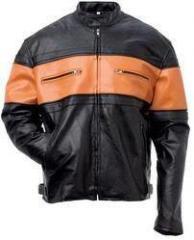 Orange country Harley Davidson motor-jacke