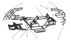 Frame of Sport Energy Hunter 125