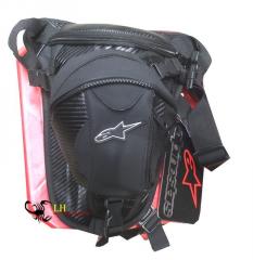 Bag on Alpinestars hip