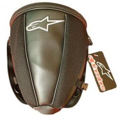 Bag on the Back Seat of Alpinestars Tail Bag