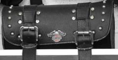 Bag on Harley-Davidson Wheel
