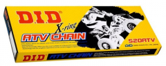Chain and star of DID 520ATV G&B - 88FB