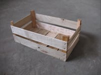 Wooden boxes, container from an interline interval