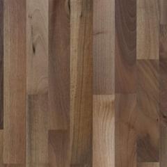 Three-lane parquet board of Serifoglu American Nut