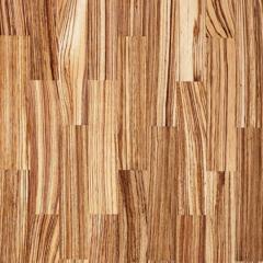 Three wooden boards Serifoglu Zebrano Suite