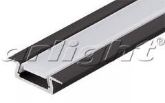 MIC-F-2000 ANOD Black aluminum Shape Article