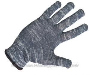 Перчатки рабочие трикотажные х/б вязанные