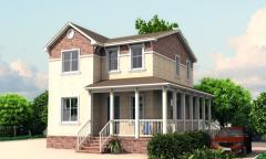 Модульные дома. Жилые дома площадью 120-250 м.кв.