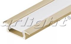 MIC-F-2000 ANOD Gold Deep aluminum Shape Article
