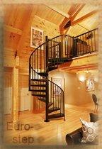 Винтовая лестница для дома дачи в Украине