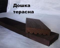 The board is terrace
