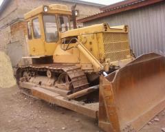 Bulldozer T 130 (T 170), 1989g.v., a shovel with a
