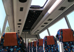 Universal air ports for salons of minibuses