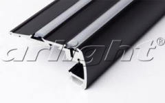 STEP-2000 BLACK aluminum Shape Article 018507