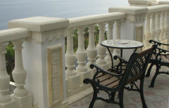 Balusters marble