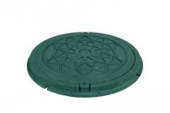 Hatches sewer (garden) green