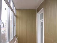 Рамы балконные металопластиковые