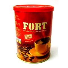 Fort coffee of a granule of 100 g