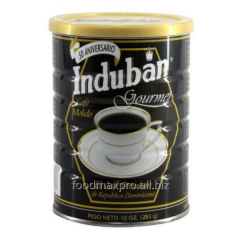 Ground coffee Induban Gourmet of can of 283 g