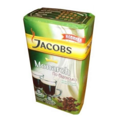 Ground coffee Jacobs Monarch in a Vienna way 250 g