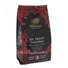 Ground coffee Whittard San Agustin Colombian 227