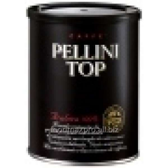 Ground coffee Pellini Top Tin natural can of 250 g