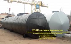 Резервуары для нефтепродуктов подземные, ...