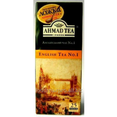 Ahmad tea tea English No. 1 with a thread 25*2g