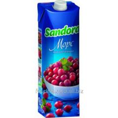 Sandora fruit drink cranberry 1 l
