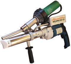 The extruder welding manual KSE-02 is intended for