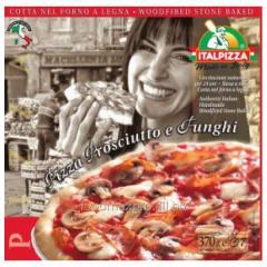 Italpizza pizza Italian with proshutto and