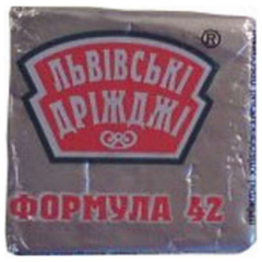 Yeast the Lviv 42 g pressed in a foil