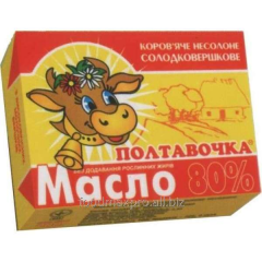 Butter of Poltavochk of GOST of 80% 200 g