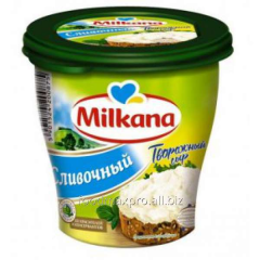 Cheese cottage cheese Milkana of creamy 150 g