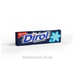 Chewing gum Dirol frosty mint 13,6g