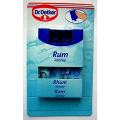 Dr. Oetker fragrance Rum an additive for baking of