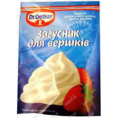 Dr. Oetker thickener for cream an additive for