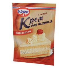 Dr. Oetker cream for cake with taste of vanilla 50
