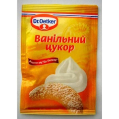 Dr. Oetker sugar vanilla an additive for baking of