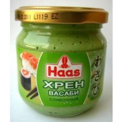 Haas horse-radish of Wasabi of creamy 212 ml