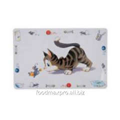 Rug under a bowl for cats of Trixie 44 of cm of